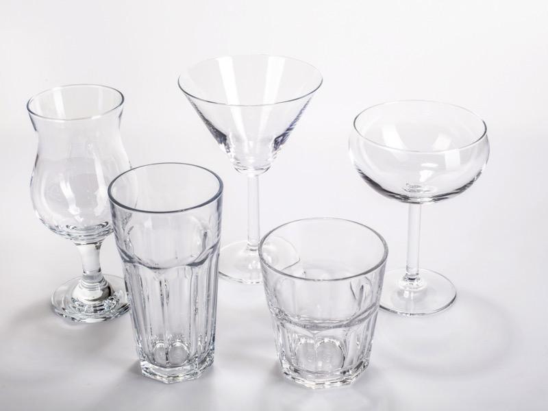 Üveg poharak