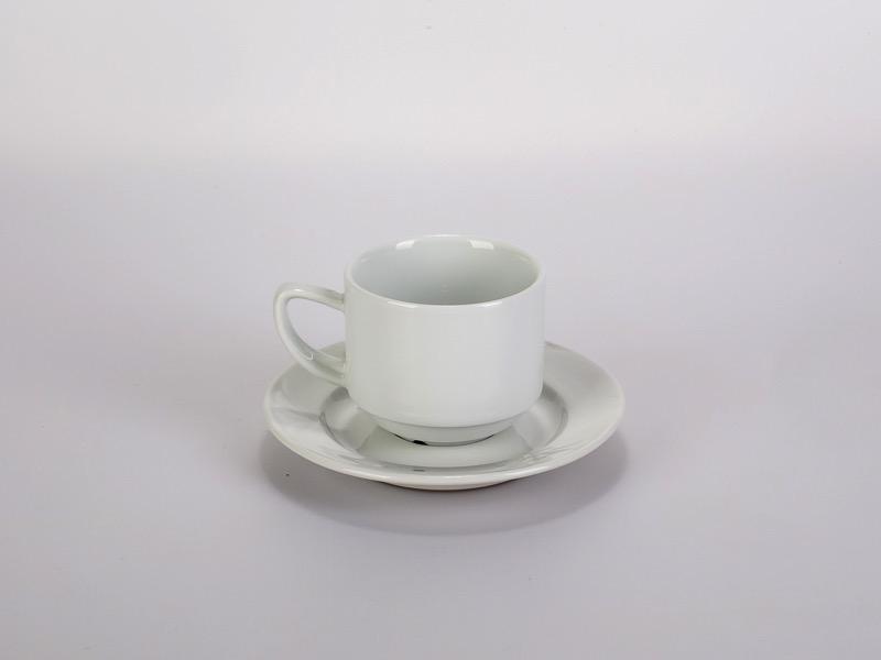 Hosszú kávés csésze aljjal, Alföldi