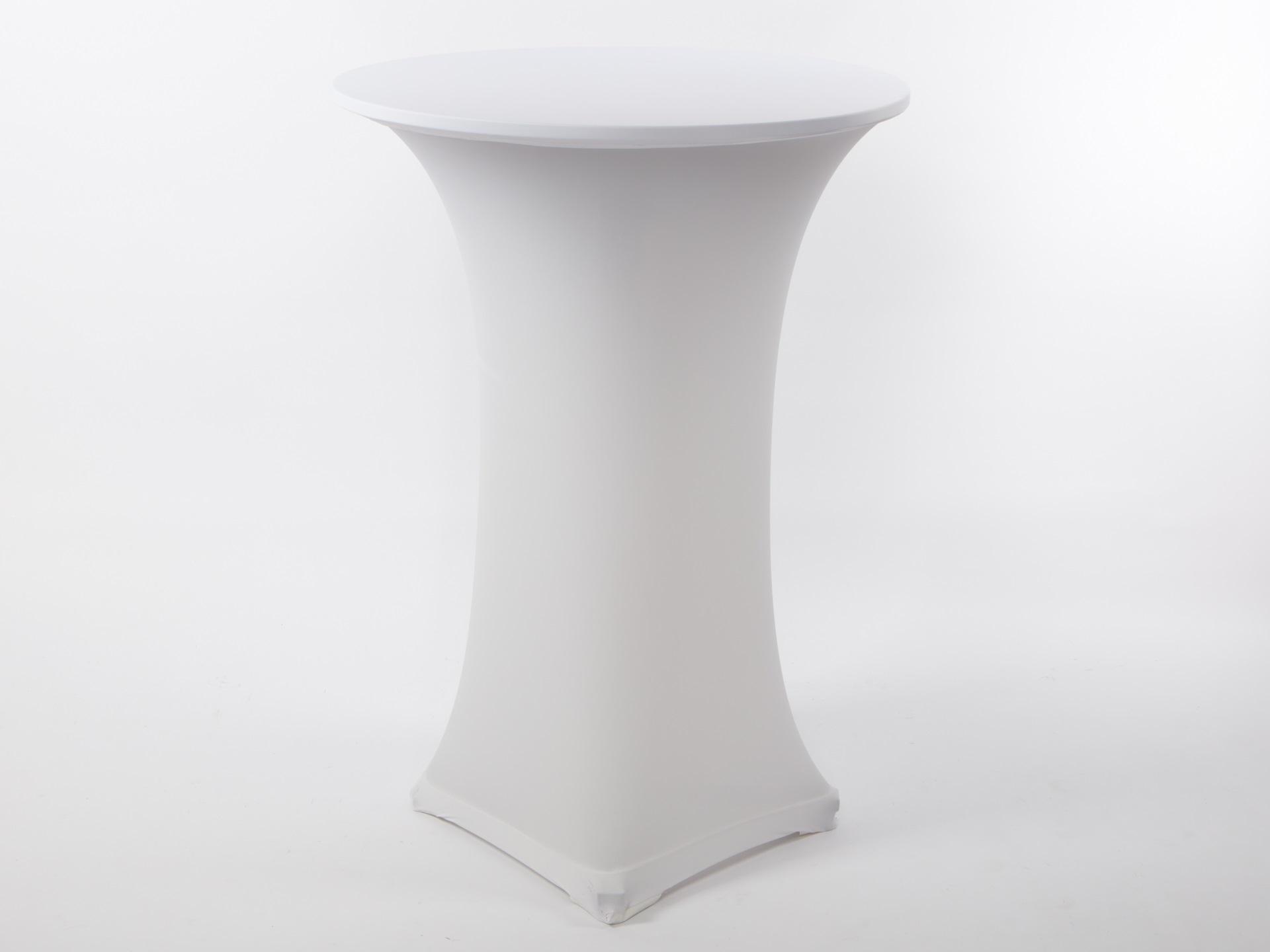Spandex könyöklő huzat, fehér