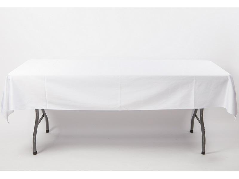 Táblaabrosz, fehér 240*140cm