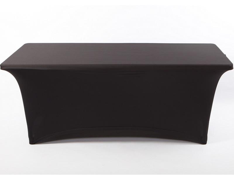 Spandex táblaasztal huzat, fekete