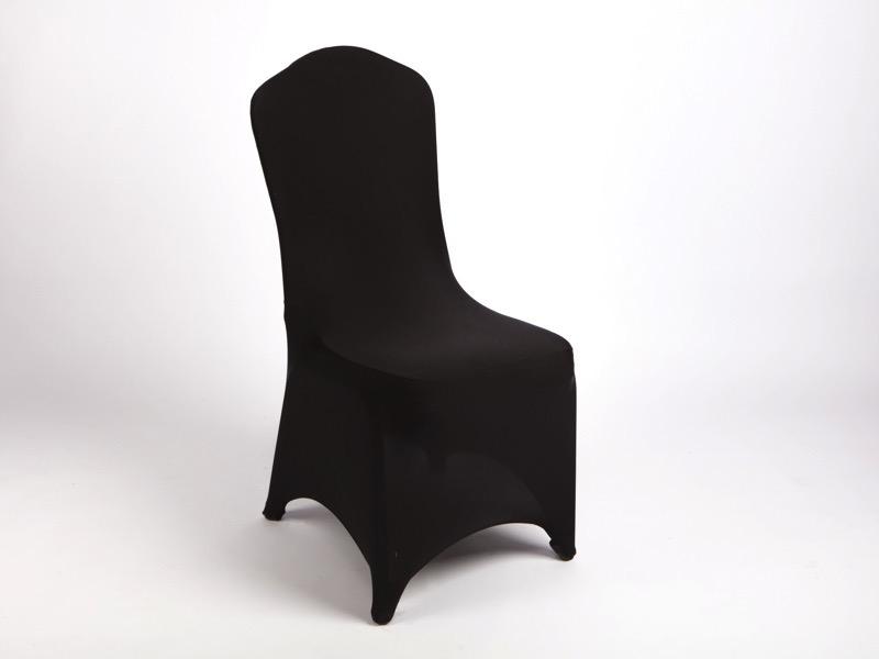 Spandex székhuzat, fekete