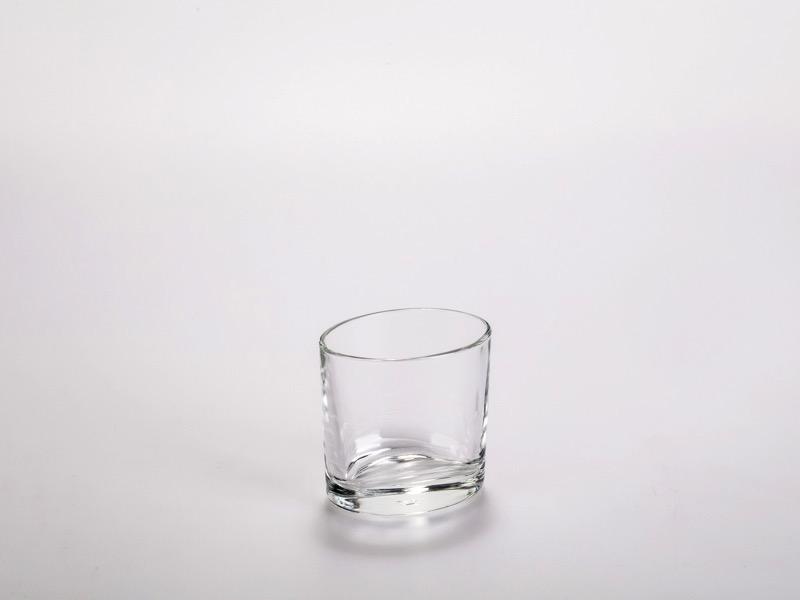 Fingerfood üveg pohár, ovális