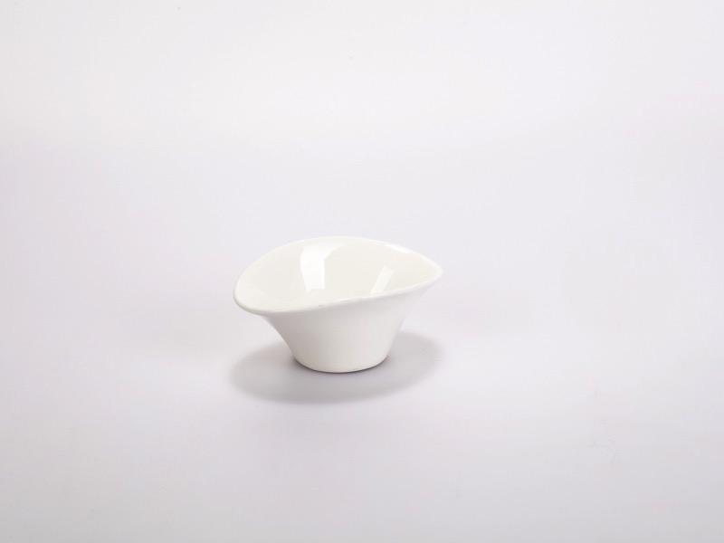 Fingerfood porcelán tálka, csónak