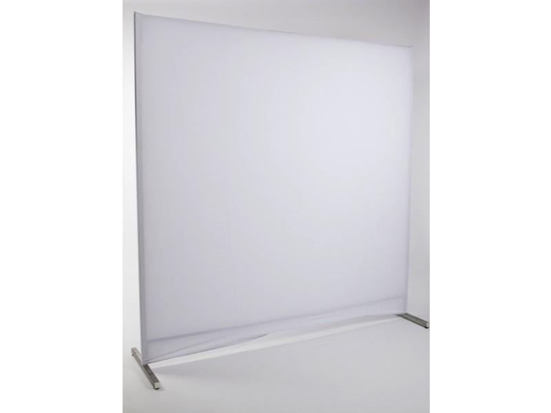 Paraván, fehér (2*2m)