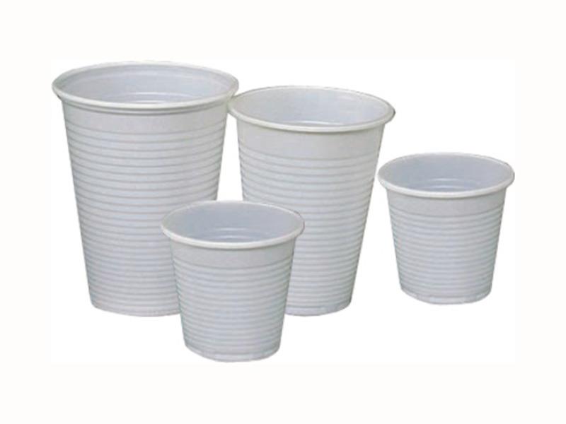 Műanyag pohár 0,1l
