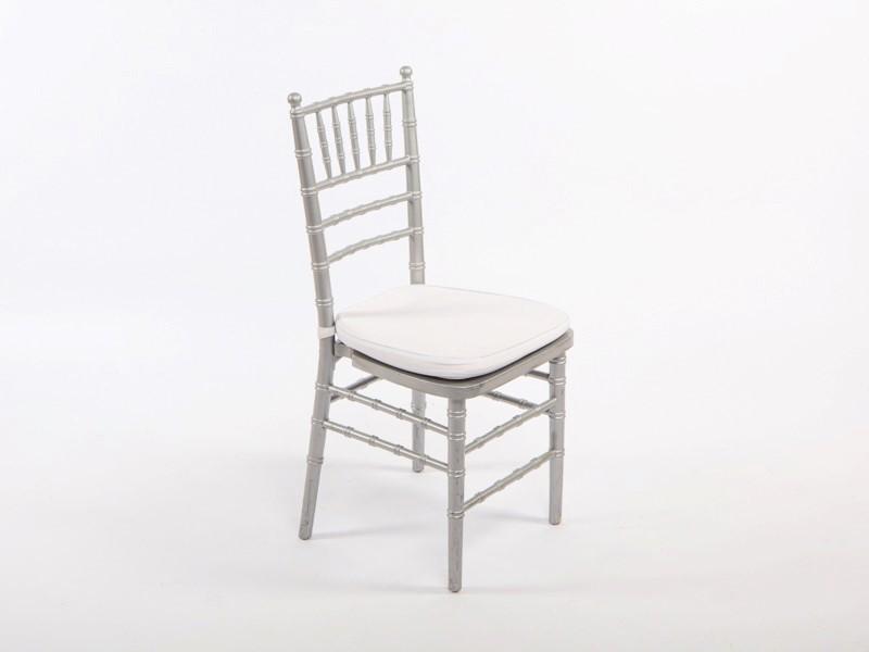 Amerikai szék, ezüst (fa)