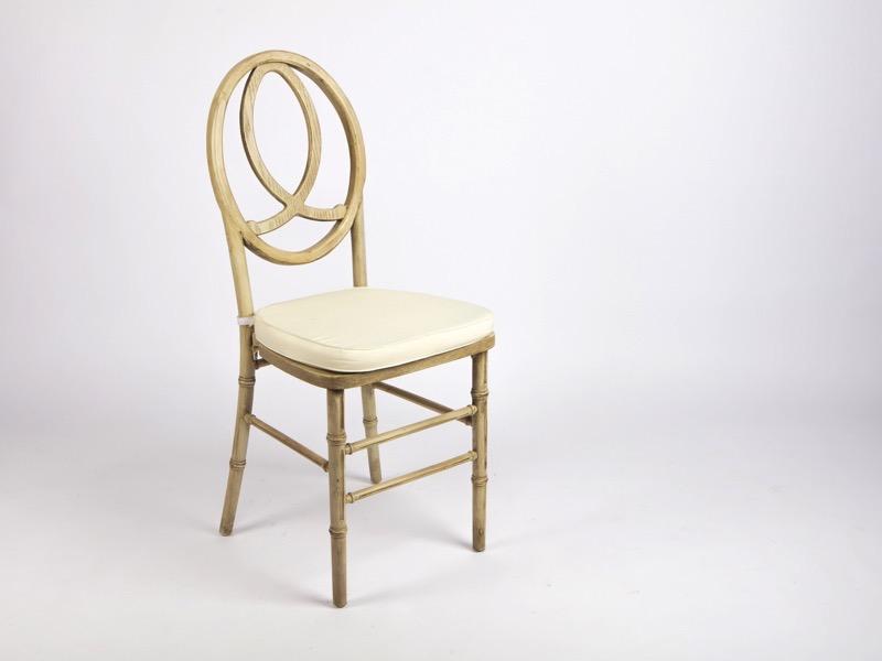 Amerikai szék, natúr (fa)