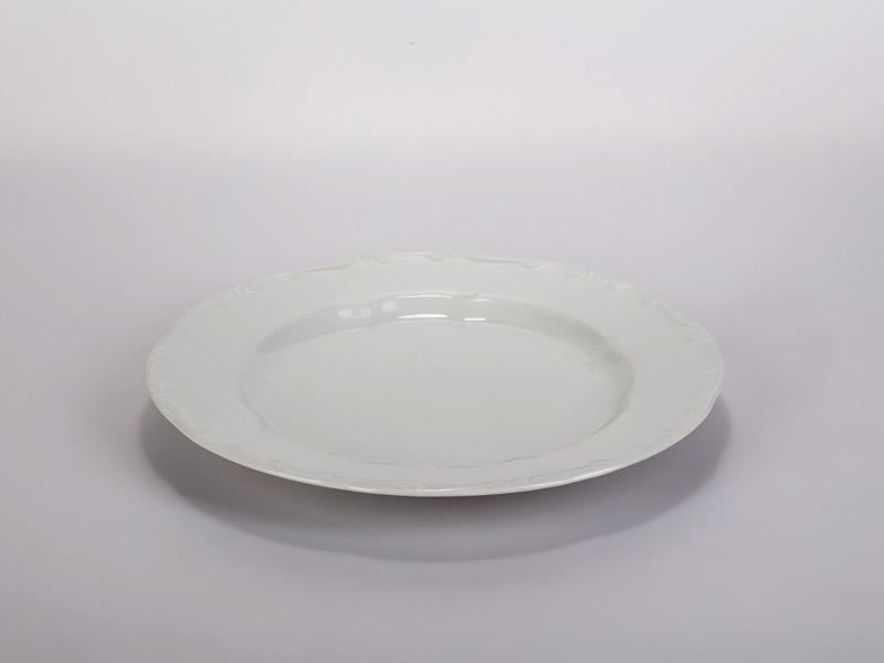 Desszert tányér, Zsolnay 21cm