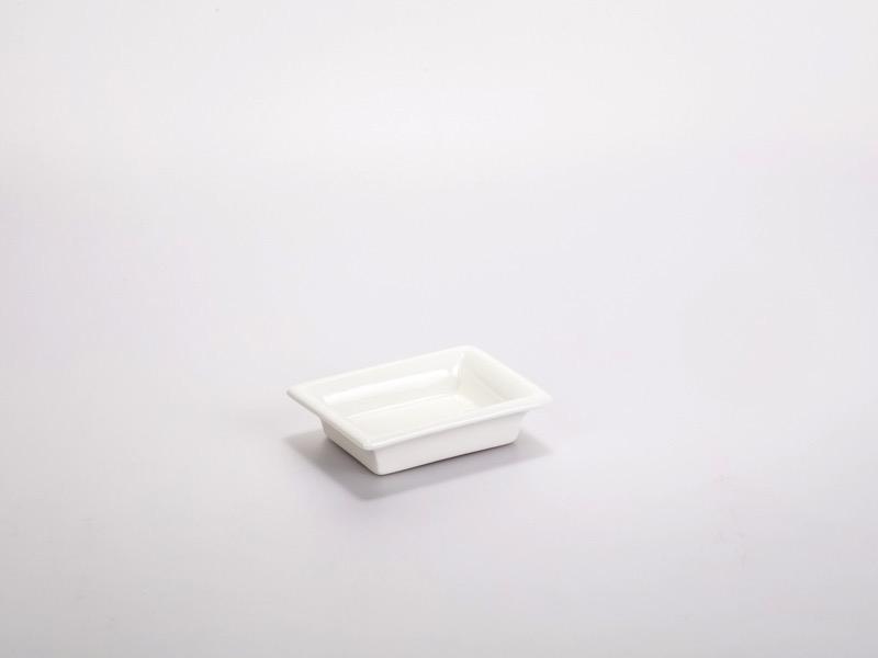 Fingerfood porcelán tálka 8*6cm