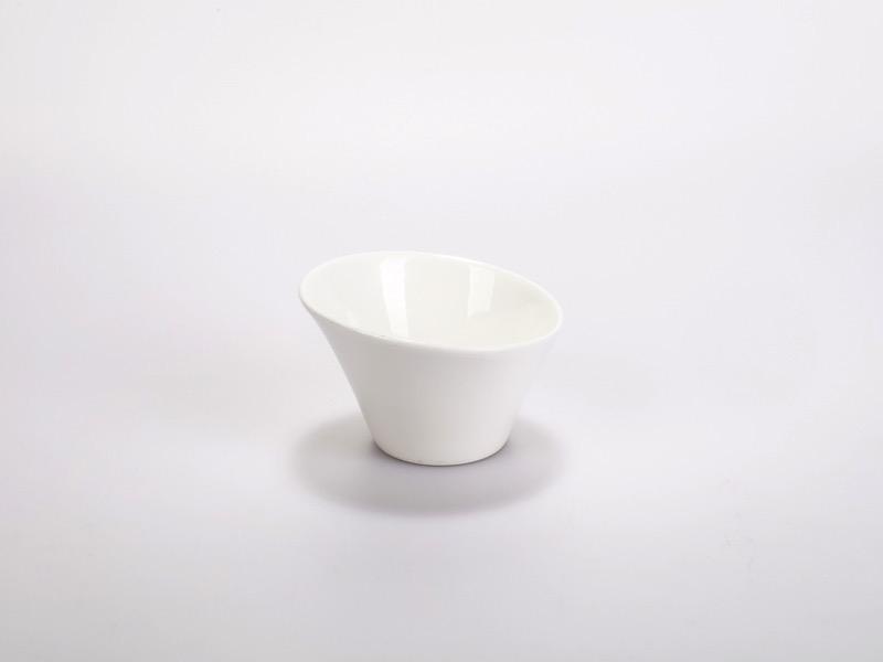 Fingerfood porcelán tálka, nagy Dits