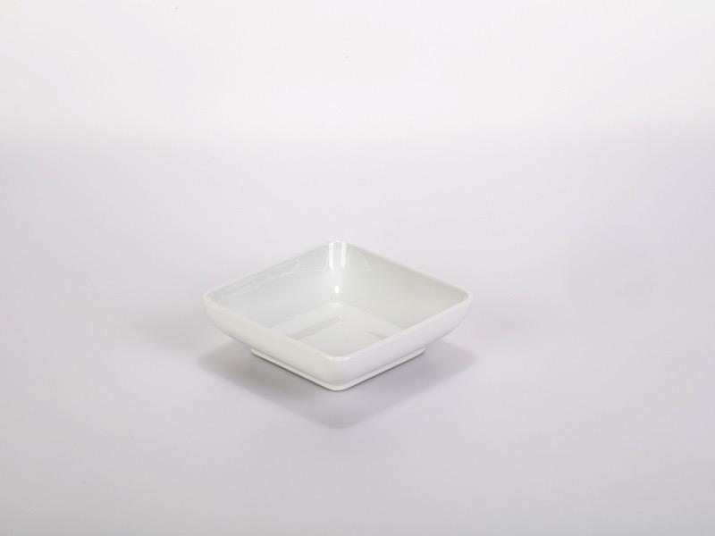 Fingerfood porcelán tálka12*12cm