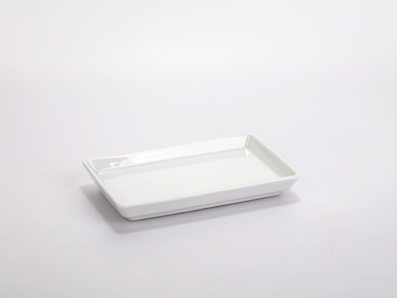 Fingerfood porcelán tálka 16*10cm