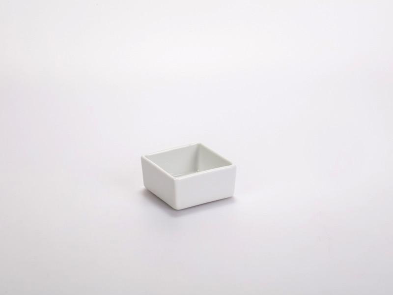 Fingerfood porcelán tálka 6*6cm