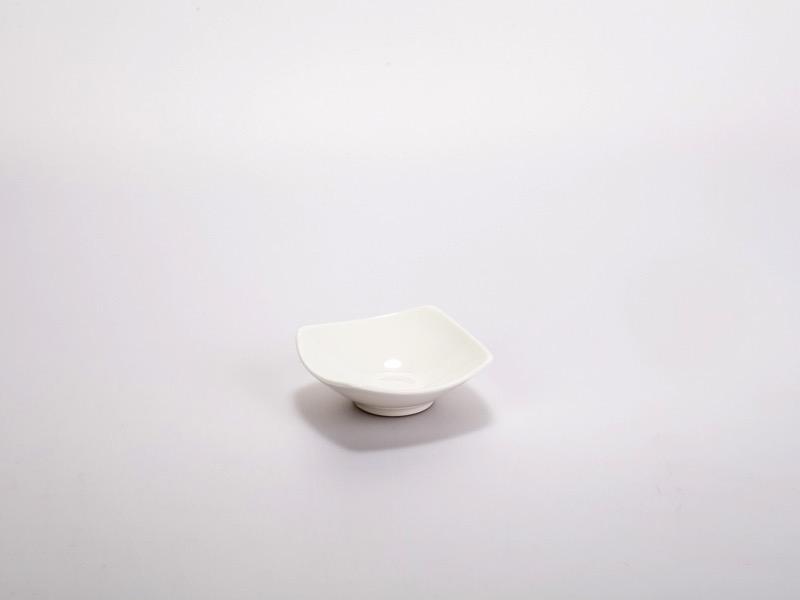 Fingerfood porcelán tálka 7,5*7,5cm