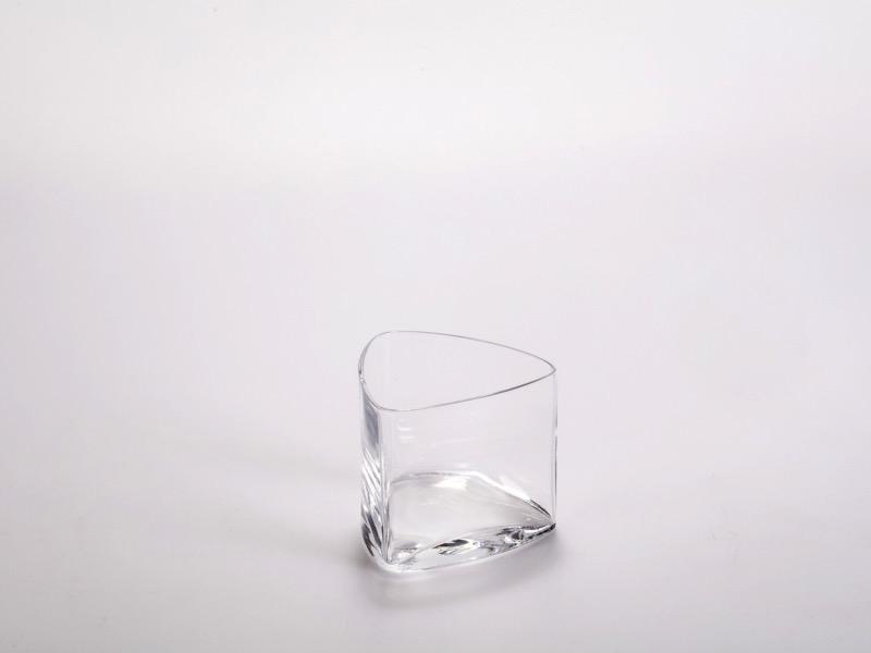 Fingerfood üveg pohár, háromszög