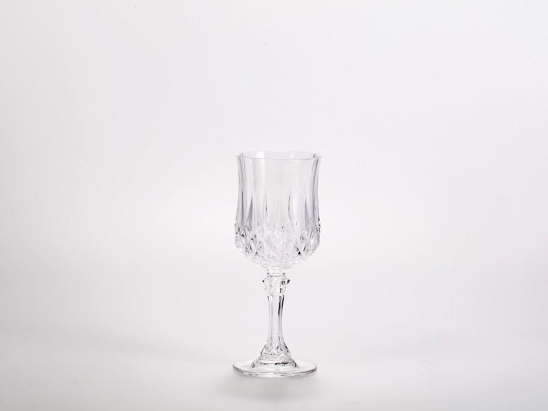 Fehérboros pohár Kristály