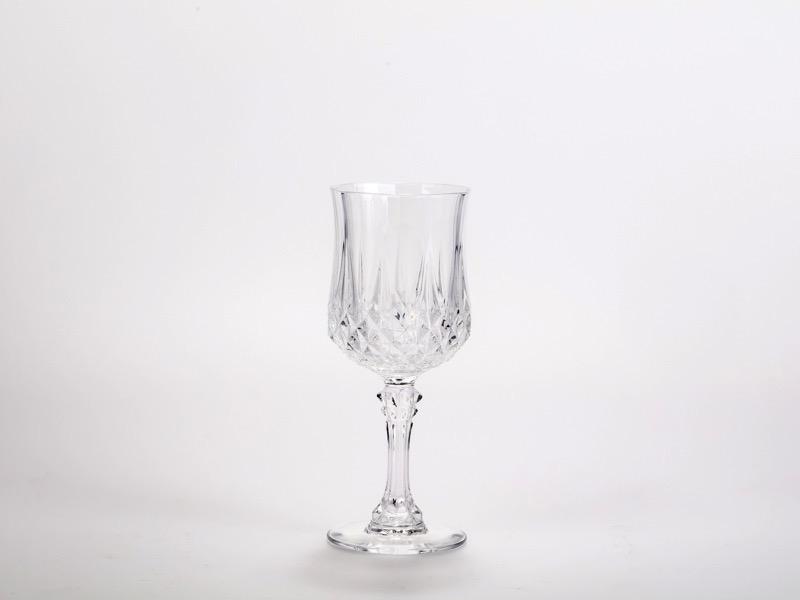 Vörösboros pohár Kristály
