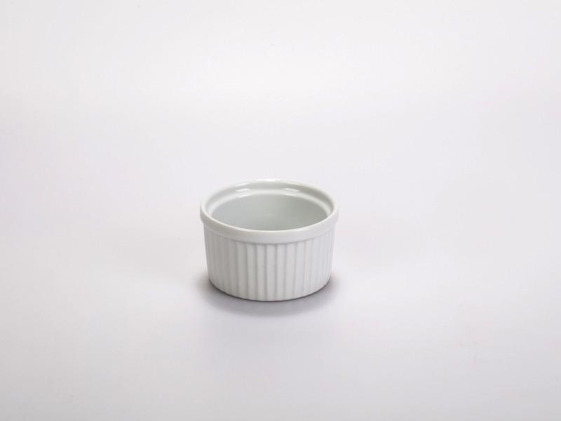 Porcelán souflé tálka