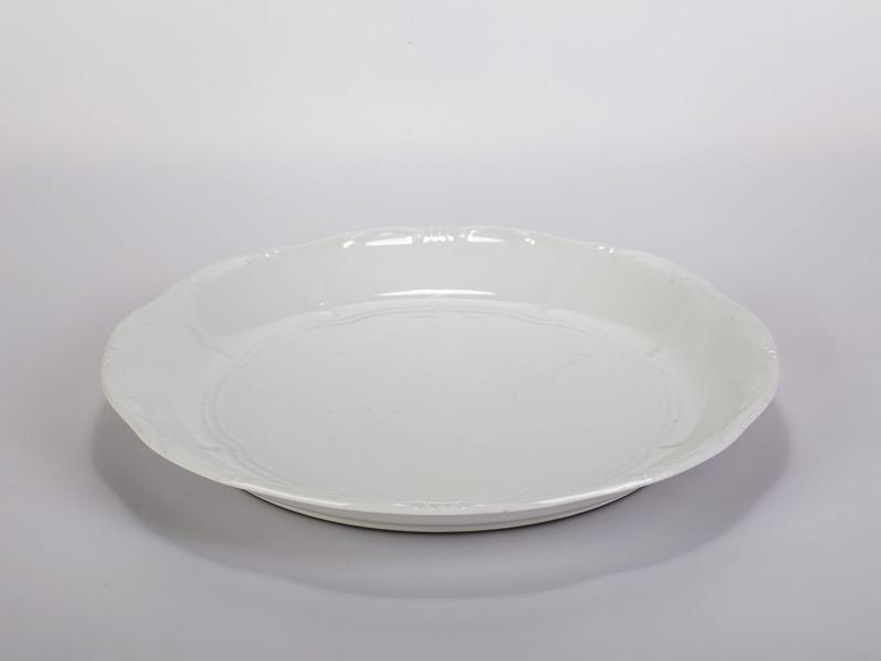 Svájci tányér, Zsolnay 31cm
