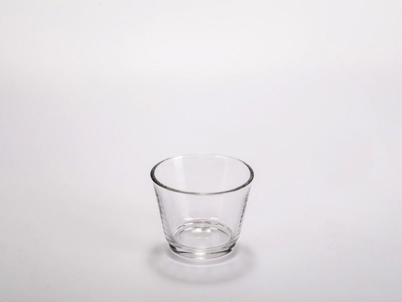 Fingerfood üveg pohár, kerek